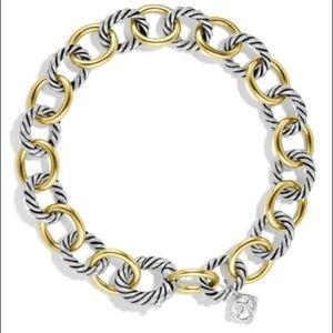 David Yurman 100% authentic Silver/Gold Bracelet